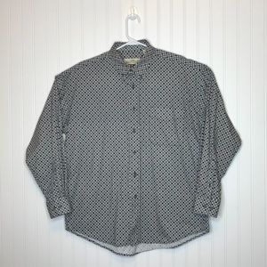 Natural Issue Mens Button Down Oxford Shirt Size L